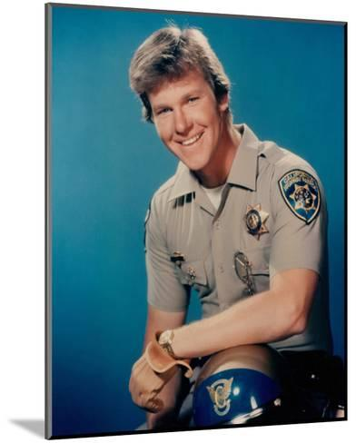 Larry Wilcox - CHiPs--Mounted Photo