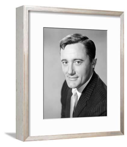 Robert Vaughn - The Man from U.N.C.L.E.--Framed Art Print