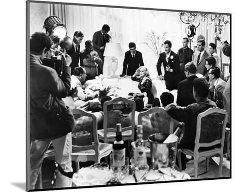 La Dolce Vita, Anita Ekberg--Mounted Photo