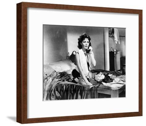 Anouk Aimee - La dolce vita--Framed Art Print