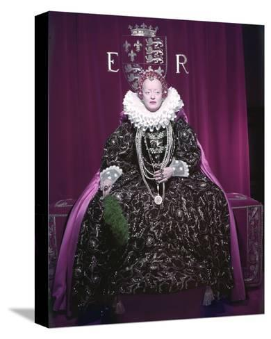 The Virgin Queen--Stretched Canvas Print