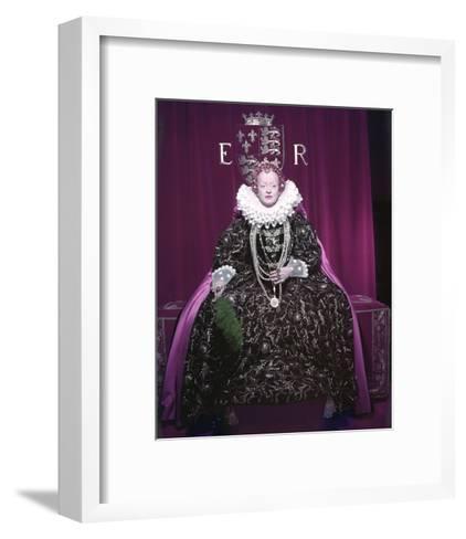 The Virgin Queen--Framed Art Print
