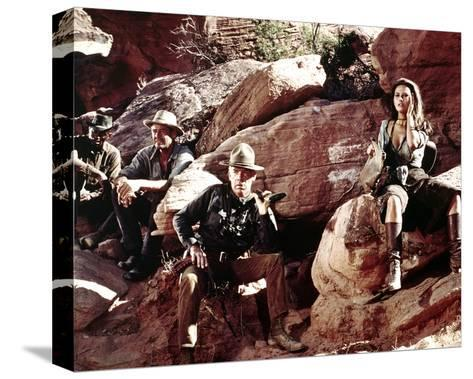 The Professionals--Stretched Canvas Print