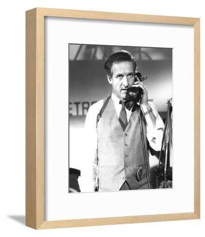 Daniel J. Travanti - Hill Street Blues--Framed Art Print