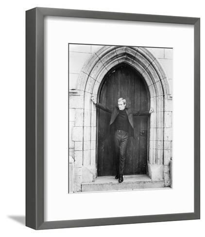 David McCallum - The Man from U.N.C.L.E.--Framed Art Print
