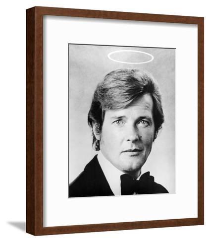 Roger Moore - The Saint--Framed Art Print