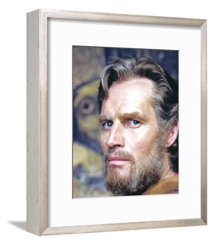 Charlton Heston - El Cid--Framed Art Print