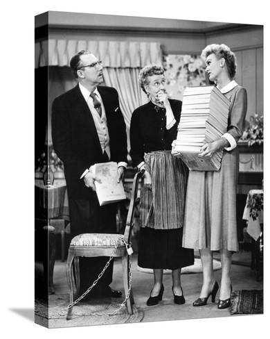 Our Miss Brooks--Stretched Canvas Print