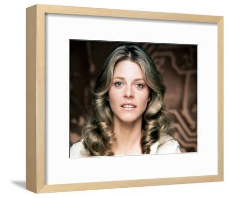 Lindsay Wagner - The Bionic Woman--Framed Art Print