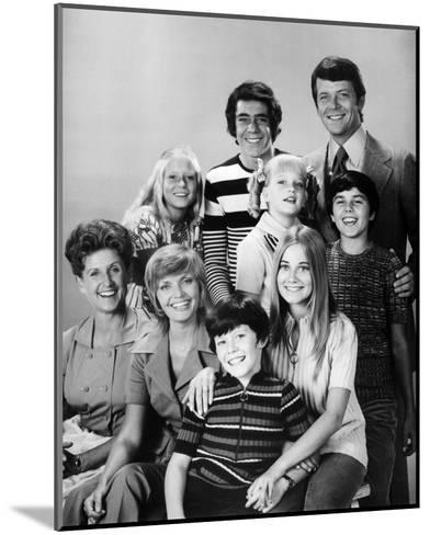 The Brady Bunch--Mounted Photo