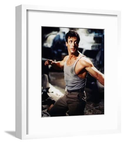 Sylvester Stallone--Framed Art Print