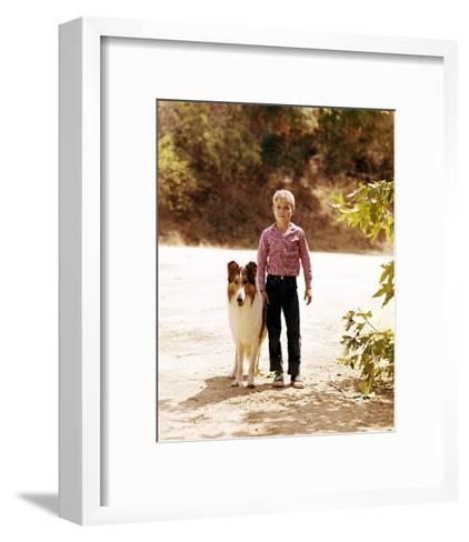 Jon Provost - Lassie--Framed Art Print