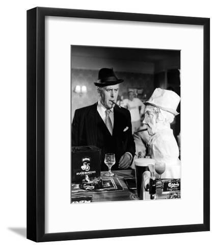 George Cole - Minder--Framed Art Print