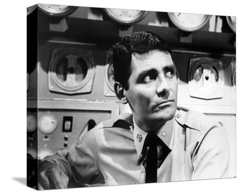 David Hedison - Voyage to the Bottom of the Sea--Stretched Canvas Print