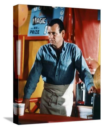 David Janssen - The Fugitive--Stretched Canvas Print