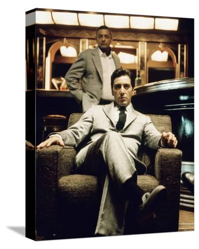 Al Pacino - The Godfather: Part II--Stretched Canvas Print
