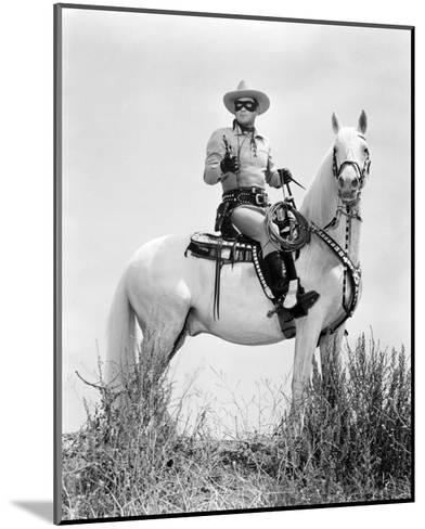 Clayton Moore - The Lone Ranger--Mounted Photo