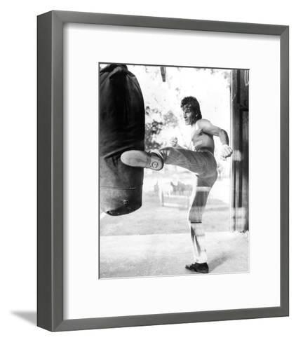 Patrick Swayze - Road House--Framed Art Print