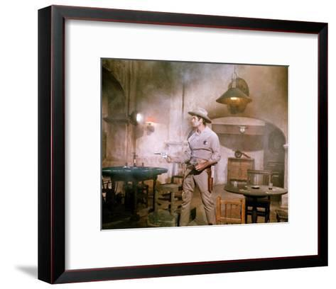 The Great Bank Robbery--Framed Art Print