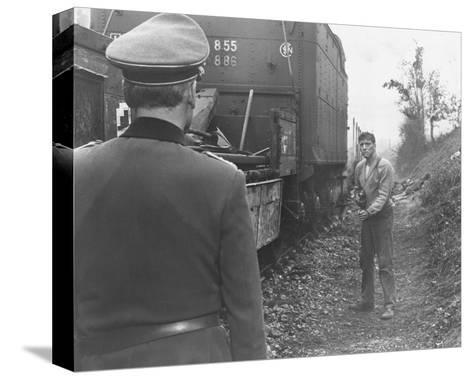 The Train--Stretched Canvas Print