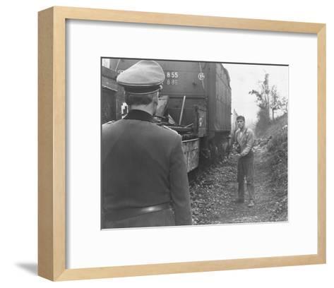 The Train--Framed Art Print