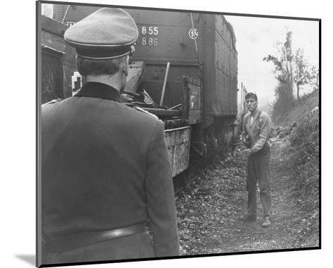 The Train--Mounted Photo