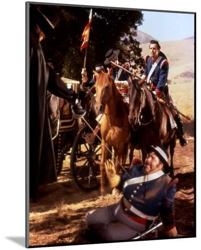 Zorro--Mounted Photo
