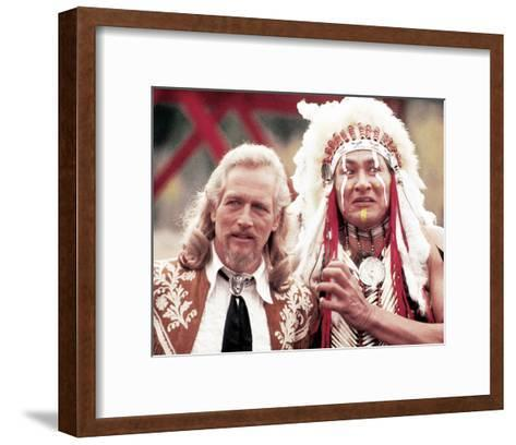 Buffalo Bill and the Indians, or Sitting Bull's History Lesson--Framed Art Print