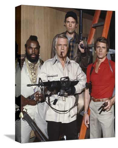 The A-Team--Stretched Canvas Print