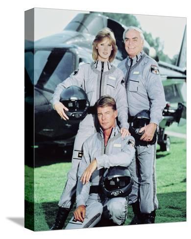 Airwolf--Stretched Canvas Print