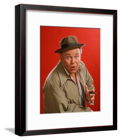 Carroll O'Connor - All in the Family--Framed Art Print