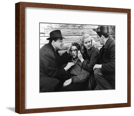 On the Waterfront--Framed Art Print