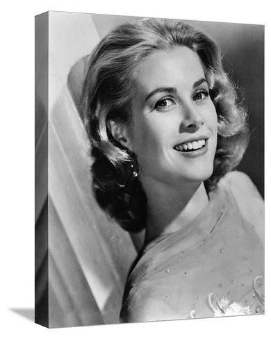 Grace Kelly--Stretched Canvas Print