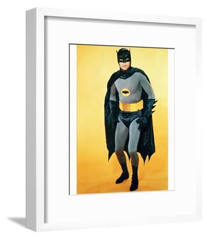 Adam West - Batman--Framed Art Print