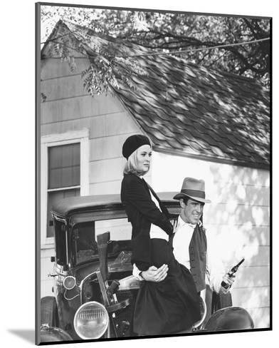Bonnie and Clyde--Mounted Photo
