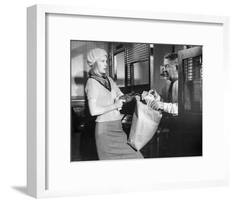 Bonnie and Clyde--Framed Art Print