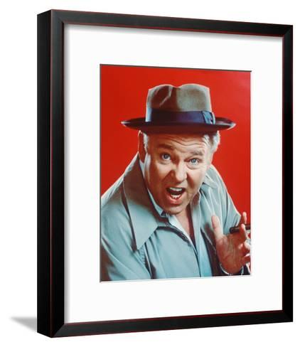 Carroll O'Connor - All in the Family--Framed Art Print