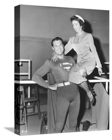 Adventures of Superman--Stretched Canvas Print