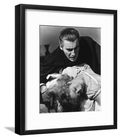 Dracula--Framed Art Print