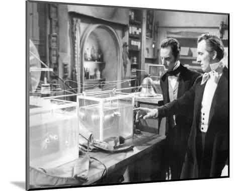 The Curse of Frankenstein--Mounted Photo
