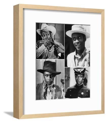 Blazing Saddles--Framed Art Print