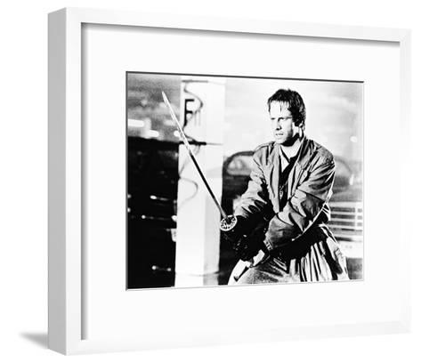 Christopher Lambert - Highlander--Framed Art Print