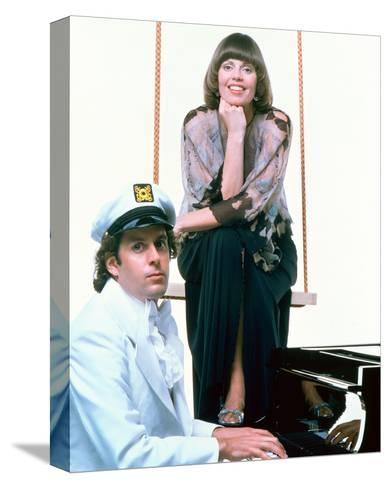 Captain & Tennille--Stretched Canvas Print