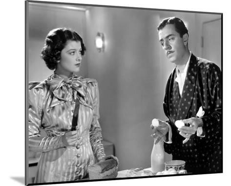 After the Thin Man--Mounted Photo