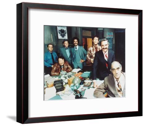 Barney Miller--Framed Art Print