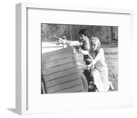 Bonnie and Clyde--Framed Art Print
