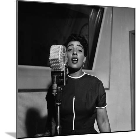 Carmen McRae, CBS Radio 1955-G. Marshall Wilson-Mounted Photographic Print