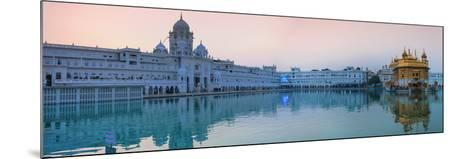 India, Punjab, Amritsar, the Harmandir Sahib,  Known As the Golden Temple-Jane Sweeney-Mounted Photographic Print