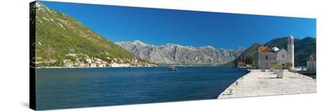 Montenegro, Bay of Kotor, Perast, Our Lady of the Rocks Island, Church of Our Lady of the Rocks-Alan Copson-Stretched Canvas Print