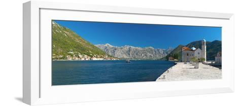 Montenegro, Bay of Kotor, Perast, Our Lady of the Rocks Island, Church of Our Lady of the Rocks-Alan Copson-Framed Art Print